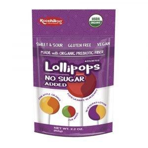 Koochikoo Organic No Sugar Lollipops