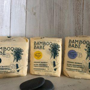 Bamboo sanitary pads